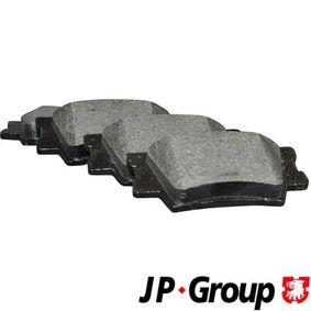 Bremsbelagsatz, Scheibenbremse Dicke/Stärke: 15,4mm mit OEM-Nummer 04466YZZE8