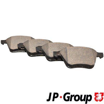 JP GROUP  4963600610 Brake Pad Set, disc brake Thickness: 18,6mm