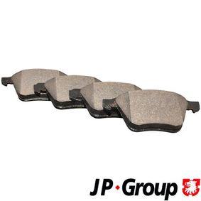 Brake Pad Set, disc brake Thickness: 18,6mm with OEM Number 30776712