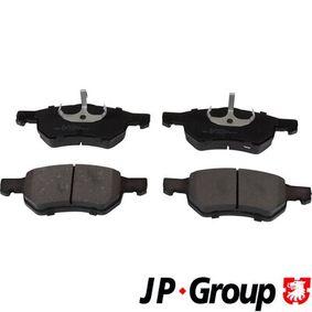 Bremsbelagsatz, Scheibenbremse Dicke/Stärke: 18,5mm mit OEM-Nummer 5015 365AA
