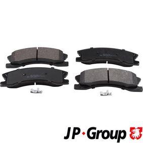 Bremsbelagsatz, Scheibenbremse Dicke/Stärke: 19,2mm mit OEM-Nummer 5093 260AA