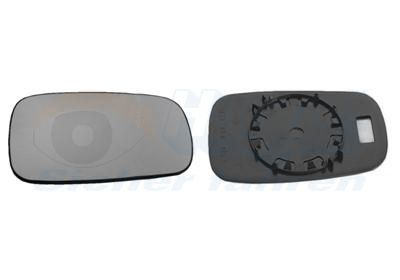 Rückspiegelglas VAN WEZEL 4327832 5410909299873