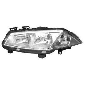Hauptscheinwerfer für Fahrzeuge mit Leuchtweiteregelung (elektrisch), für Rechtsverkehr mit OEM-Nummer 7701 064 017