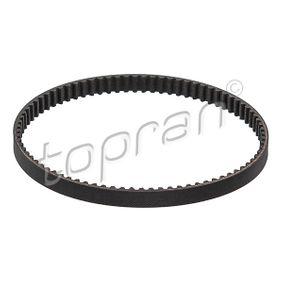 TOPRAN  117 022 Zahnriemen Breite: 10mm