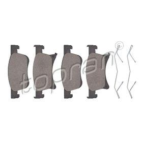 Bremsbelagsatz, Scheibenbremse Dicke/Stärke: 17,8mm mit OEM-Nummer 1605 281