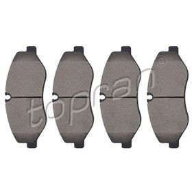Bremsbelagsatz, Scheibenbremse Dicke/Stärke: 20,8mm mit OEM-Nummer 447 420 0220