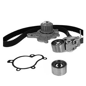 Water pump and timing belt kit with OEM Number 24810-27-200