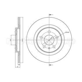 Bremsscheibe Bremsscheibendicke: 12,0mm, Lochanzahl: 5, Ø: 272,0mm mit OEM-Nummer 4246P4