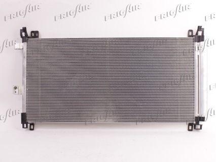 FRIGAIR  0803.3035 Kondensator, Klimaanlage Netzmaße: 700 X 360 X 16 mm, Kältemittel: R 134a
