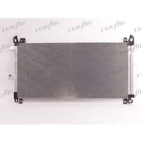 Kondensator, Klimaanlage Netzmaße: 700 X 360 X 16 mm, Kältemittel: R 134a mit OEM-Nummer 6455.HR