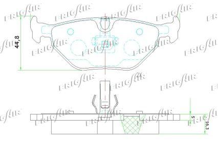 Bremsbelagsatz FRIGAIR PD02.511 Bewertung