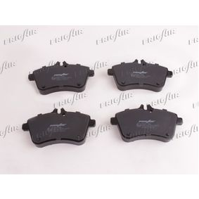 Brake Pad Set, disc brake Width: 42,4mm, Height: 15mm, Thickness: 15mm with OEM Number A 169 420 1920