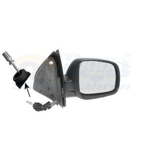 Outside Mirror with OEM Number 3B1 857 538 C