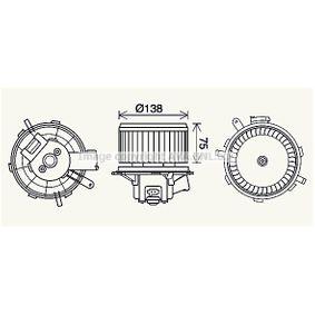 Elektromotor, Innenraumgebläse mit OEM-Nummer 6441Y1