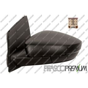 PRASCO Seitenspiegel links, mechanisch, inneneinstellbar, schwarz