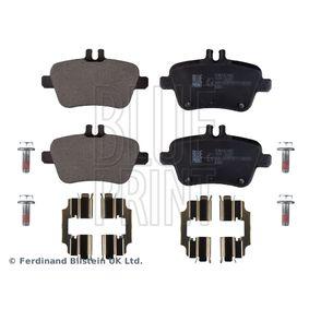 Bremsbelagsatz, Scheibenbremse Breite: 59,0mm, Dicke/Stärke 1: 17mm mit OEM-Nummer A0074209420