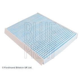 Filter, Innenraumluft Länge: 254mm, Breite: 200,0mm, Höhe: 30mm mit OEM-Nummer 6447 FF