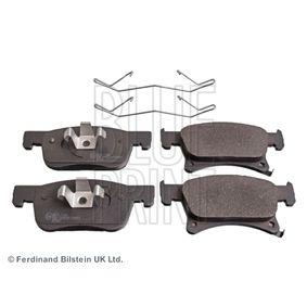 Bremsbelagsatz, Scheibenbremse Breite: 62,0mm, 68,0mm, Dicke/Stärke 1: 17,2mm mit OEM-Nummer 1605281