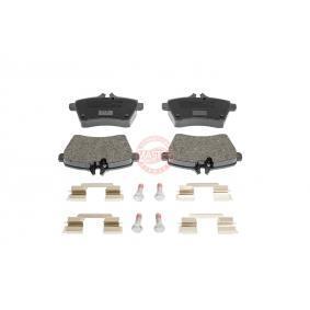 2012 Mercedes W169 A 180 CDI 2.0 (169.007, 169.307) Brake Pad Set, disc brake 13046027112N-SET-MS