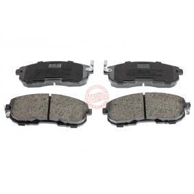 2021 Nissan Juke f15 1.6 DIG-T 4x4 Brake Pad Set, disc brake 13046057162N-SET-MS