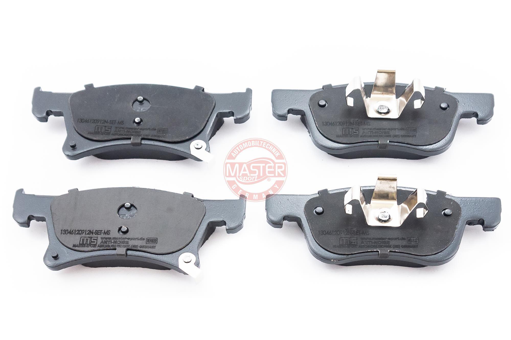 Bremsbeläge 13046120912N-SET-MS MASTER-SPORT 236120912 in Original Qualität