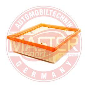 Luftfilter Länge: 212mm, Breite: 200mm, Höhe: 64mm mit OEM-Nummer 58 35 127