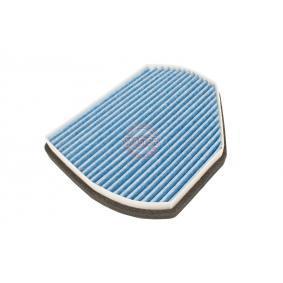 Filter, Innenraumluft Länge: 275mm, Breite: 219mm, Höhe: 54mm mit OEM-Nummer 210 830 08 18