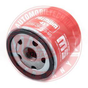 MASTER-SPORT  712/95-OF-PCS-MS Ölfilter Ø: 76mm, Außendurchmesser 2: 72mm, Innendurchmesser 2: 63mm, Höhe: 79mm