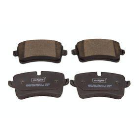 Kit de plaquettes de frein, frein à disque Largeur: 116,6mm, Hauteur 1: 60mm, Hauteur 2: 59mm, Épaisseur: 17,5mm avec OEM numéro 4G0 698 451 A
