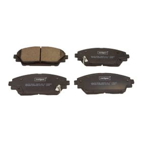 Brake Pad Set, disc brake Width: 141,9mm, Height: 55,6mm, Thickness: 15,8mm with OEM Number BHY13328ZA9C