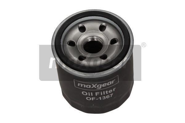 MAXGEAR  26-0872 Ölfilter Ø: 66mm, Außendurchmesser 2: 62mm, Innendurchmesser 2: 54mm, Innendurchmesser 2: 54mm, Höhe: 75mm