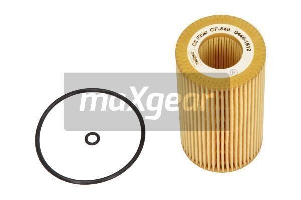 MAXGEAR  26-0877 Ölfilter Ø: 64mm, Innendurchmesser: 31mm, Innendurchmesser 2: 31mm, Höhe: 115mm
