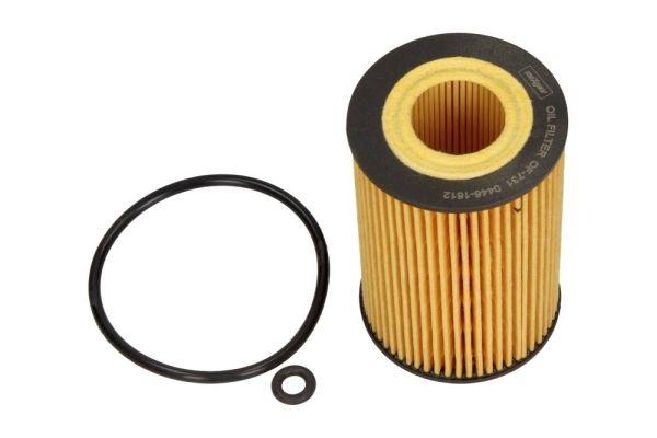MAXGEAR  26-0896 Ölfilter Ø: 65mm, Innendurchmesser: 21mm, Innendurchmesser 2: 27mm, Höhe: 103mm