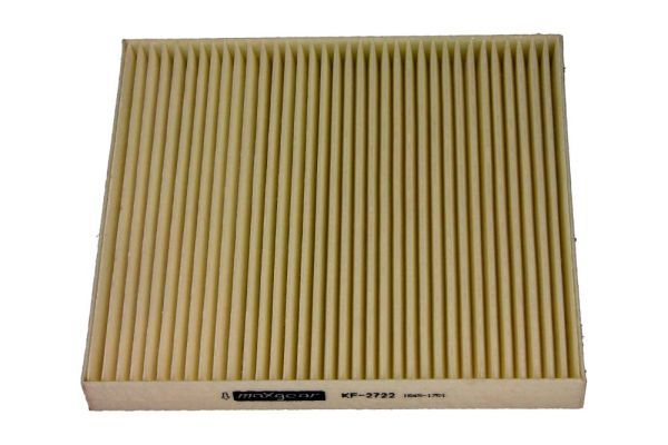 MAXGEAR  26-1020 Filter, Innenraumluft Länge: 217mm, Breite: 195mm, Höhe: 25mm