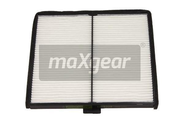 MAXGEAR  26-1036 Filter, Innenraumluft Länge: 197mm, Breite: 188mm, Höhe: 10mm