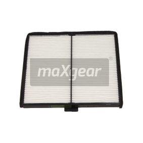 Filter, Innenraumluft Länge: 197mm, Breite: 188mm, Höhe: 10mm mit OEM-Nummer 9642-5700
