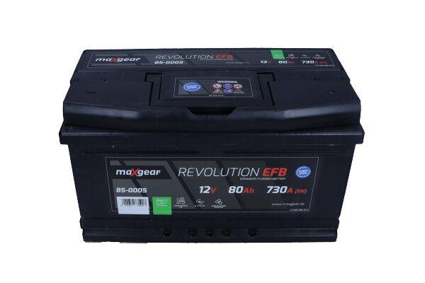 MAXGEAR REVOLUTION 85-0005 Starterbatterie