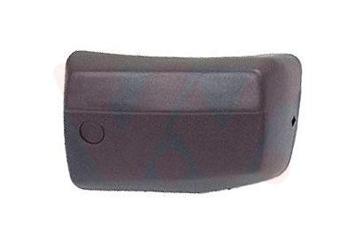 VAN WEZEL  5870564 Zier- / Schutzleiste, Stoßfänger schwarz, Kunststoff