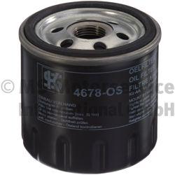 KOLBENSCHMIDT  50014678 Ölfilter Innendurchmesser 2: 71mm, Höhe: 79mm