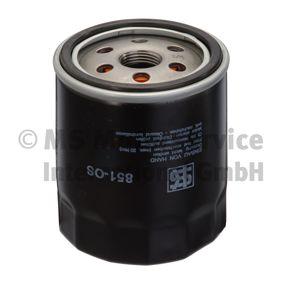 Ölfilter Innendurchmesser 2: 72mm, Höhe: 93mm mit OEM-Nummer 0117 4416
