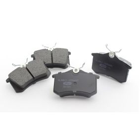 2012 Skoda Fabia Mk2 1.6 TDI Brake Pad Set, disc brake 10300384