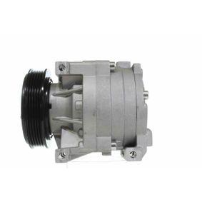 Compressor, air conditioning 10550188 PUNTO (188) 1.2 16V 80 MY 2006