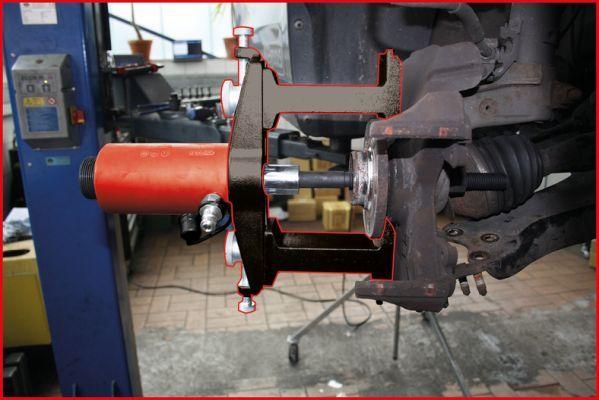 Montagewerkzeugsatz, Radnabe / Radlager KS TOOLS 440.0650 Bewertung