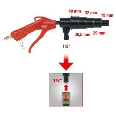 Pistola ad aria compressa KS TOOLS 515.1216 conoscenze specialistiche