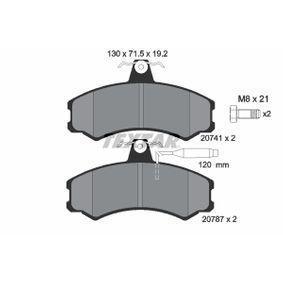 Bremsbelagsatz, Scheibenbremse Art. Nr. 2074101 120,00€