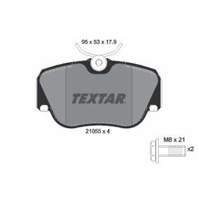 Bremsbelagsatz, Scheibenbremse Breite: 95mm, Höhe: 53mm, Dicke/Stärke: 17,9mm mit OEM-Nummer 701 698 451 C
