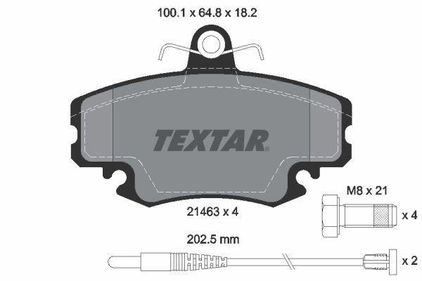 Artikelnummer 8256D1146 TEXTAR Preise
