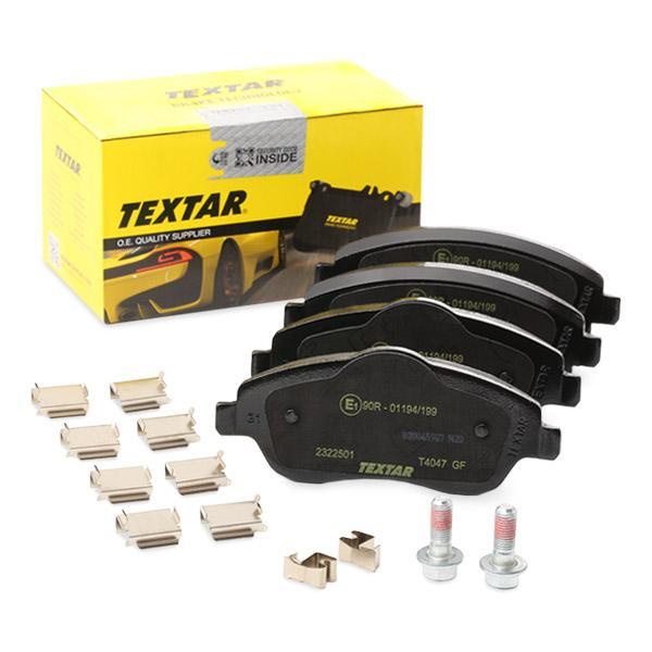 Bremsklötze TEXTAR 2322517015 Erfahrung