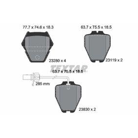 Bremsbelagsatz, Scheibenbremse Art. Nr. 2328001 120,00€