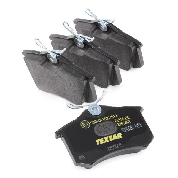 Bremsklötze TEXTAR 2355415214 4019722265570